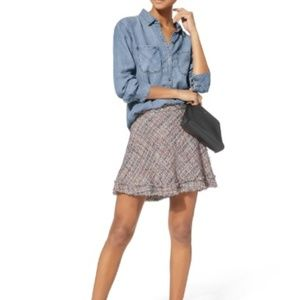 IRO Tweed Mini Skirt